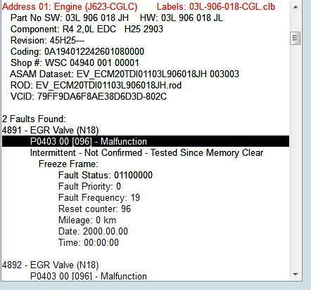 EGR light flashing + Limp mode engaged! | Audi-Sport net