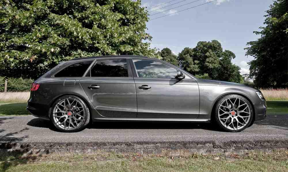 Amazoncom 18x8 Wheel Fits Audi  Audi RS4 Style Hyper