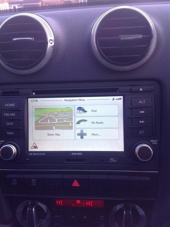 Alternative Headunit - Zenec ZE-NC3131D Review | Audi-Sport net