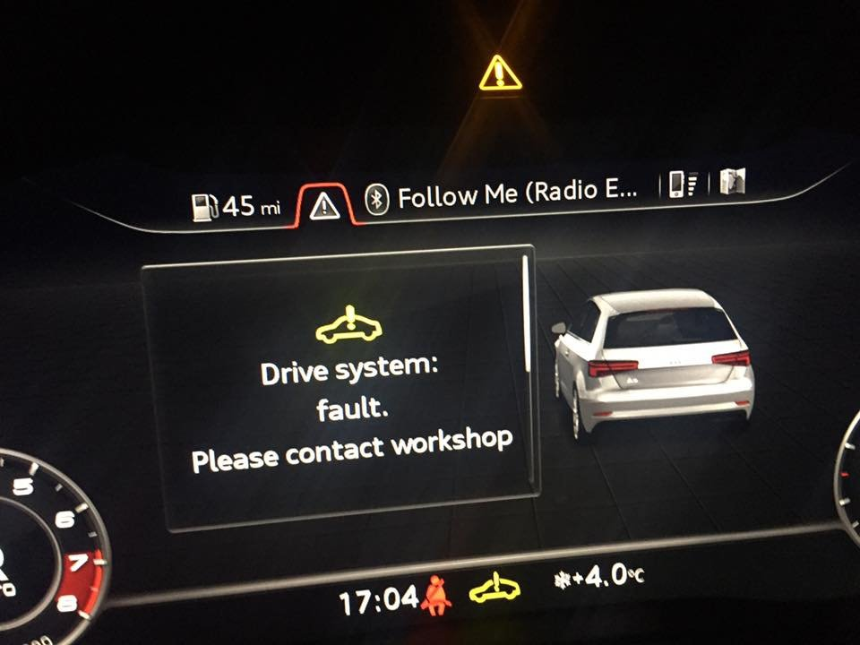 Facelift - Had this warning come up twice now should i be worried
