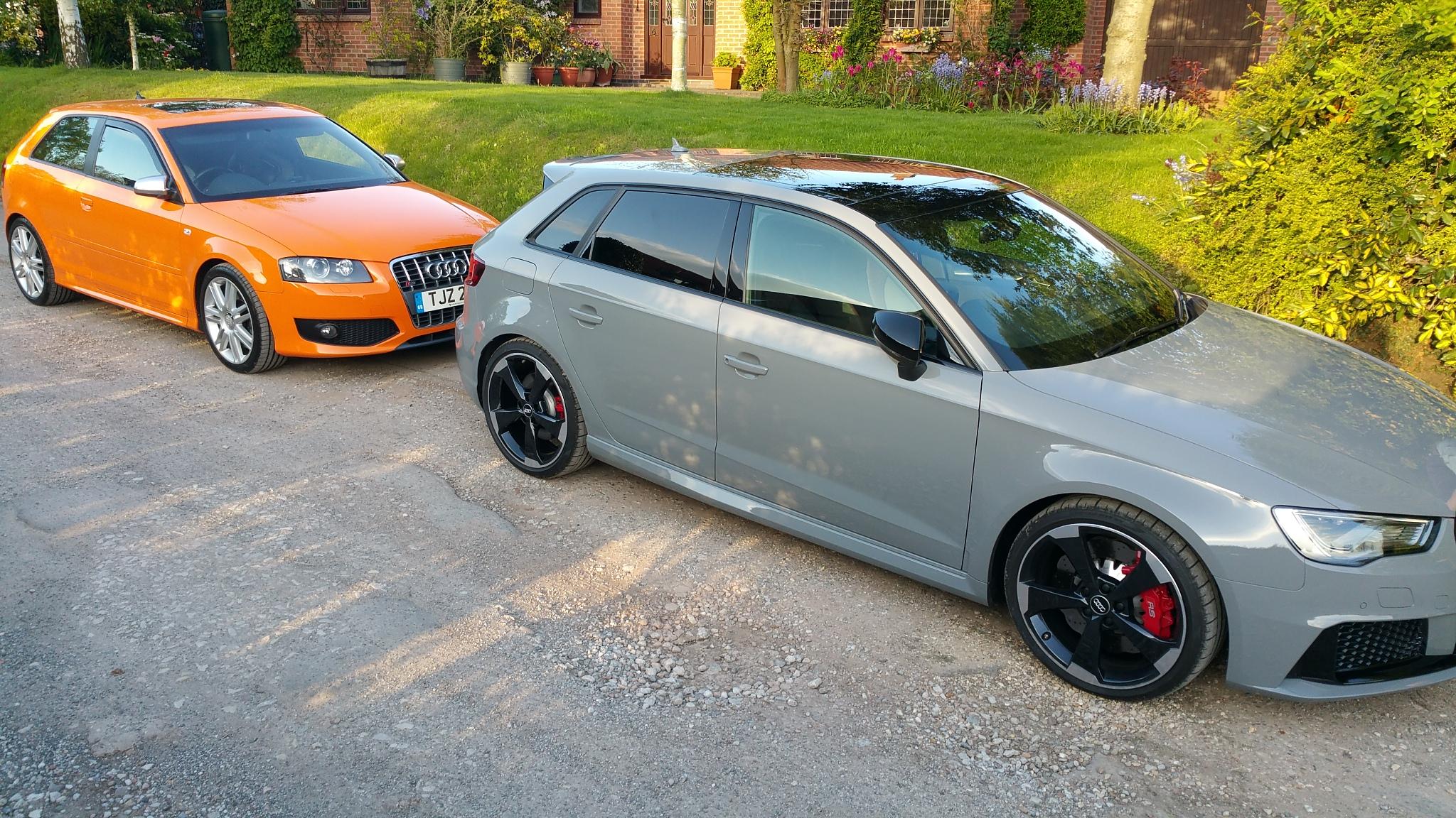 Show Us Your A3 S3 In Audi Exclusive Colours Wraps Audi Sport Net