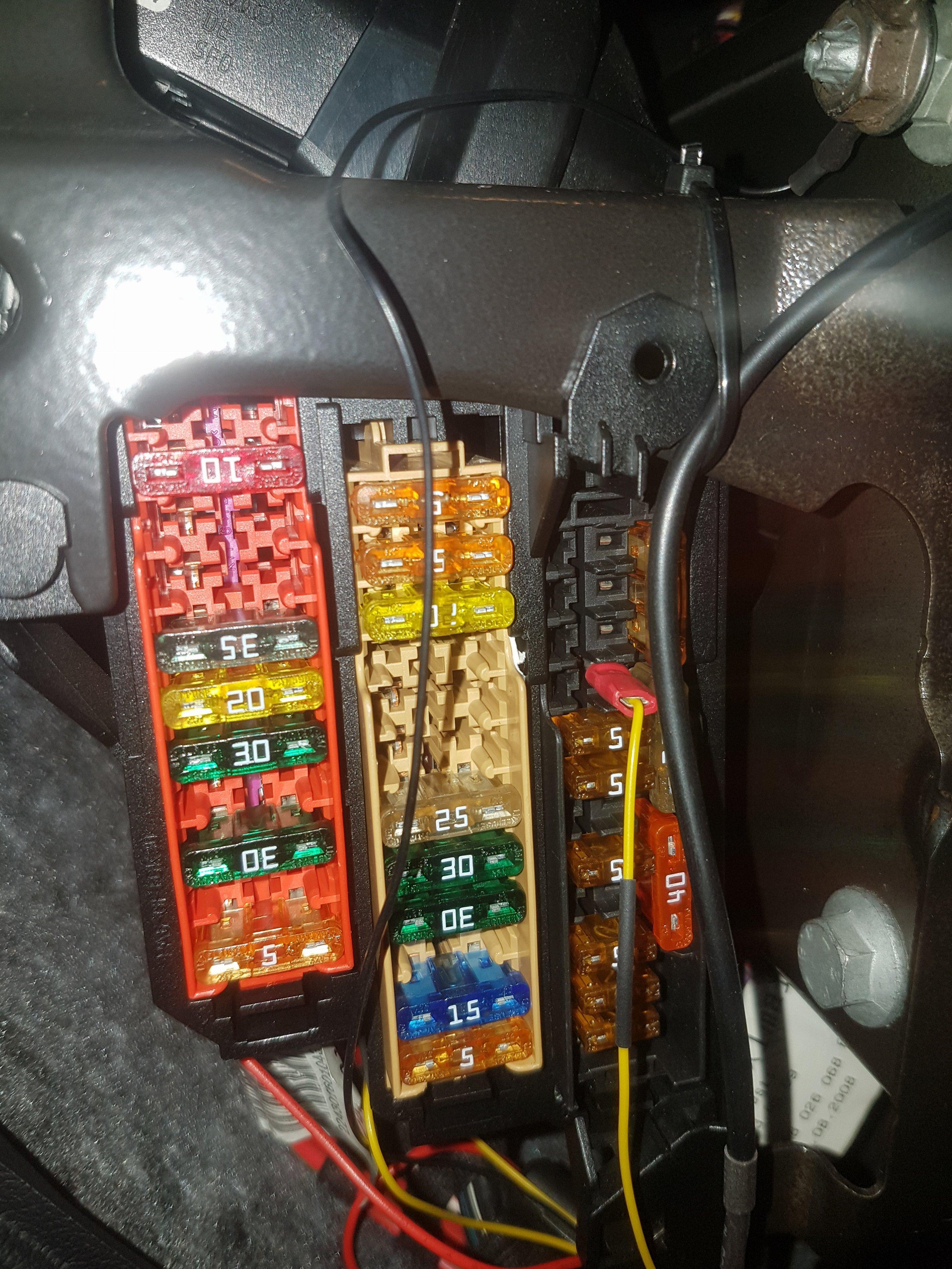 Dash Cam Wire Routing Audi S4 Fuse Box 20170114 174013 173901