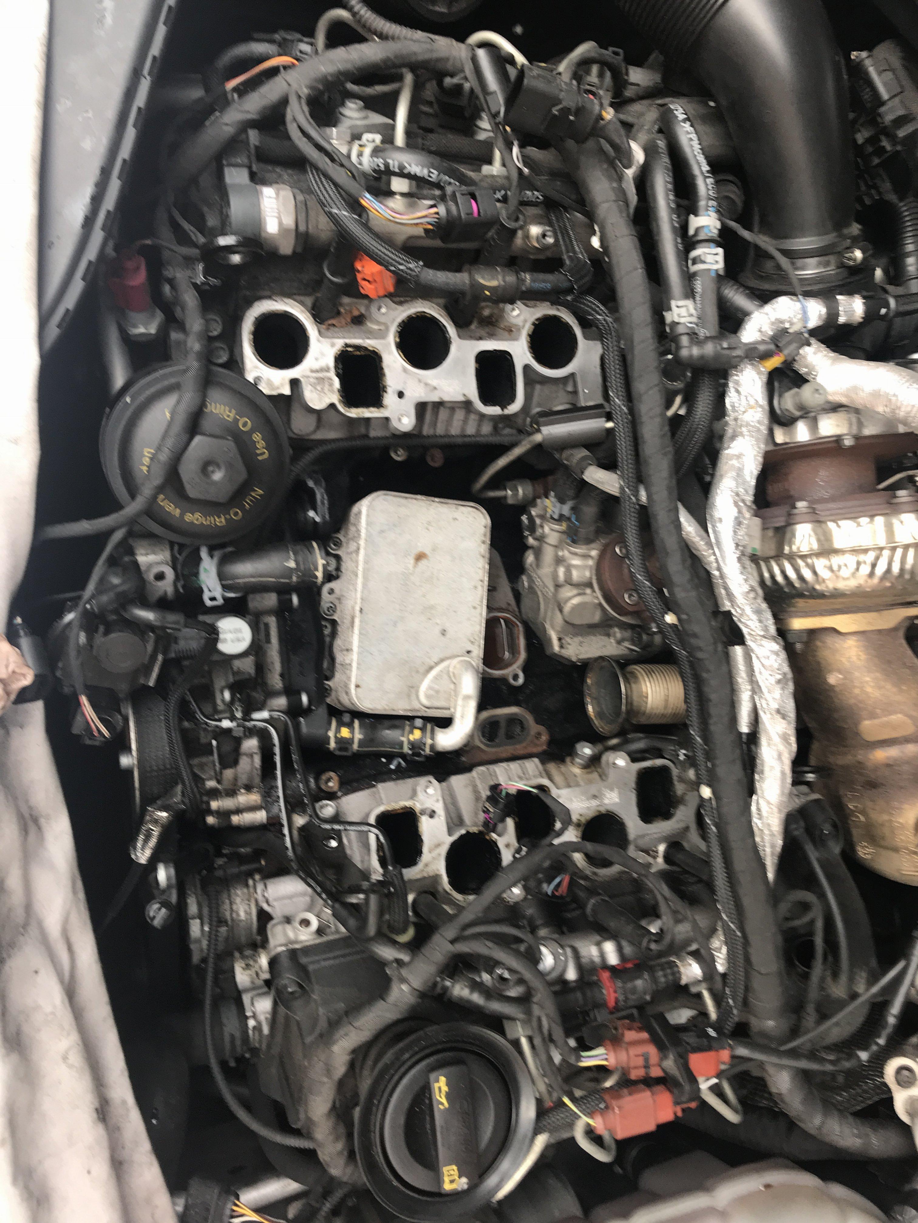 Coolant leaking | Audi-Sport net