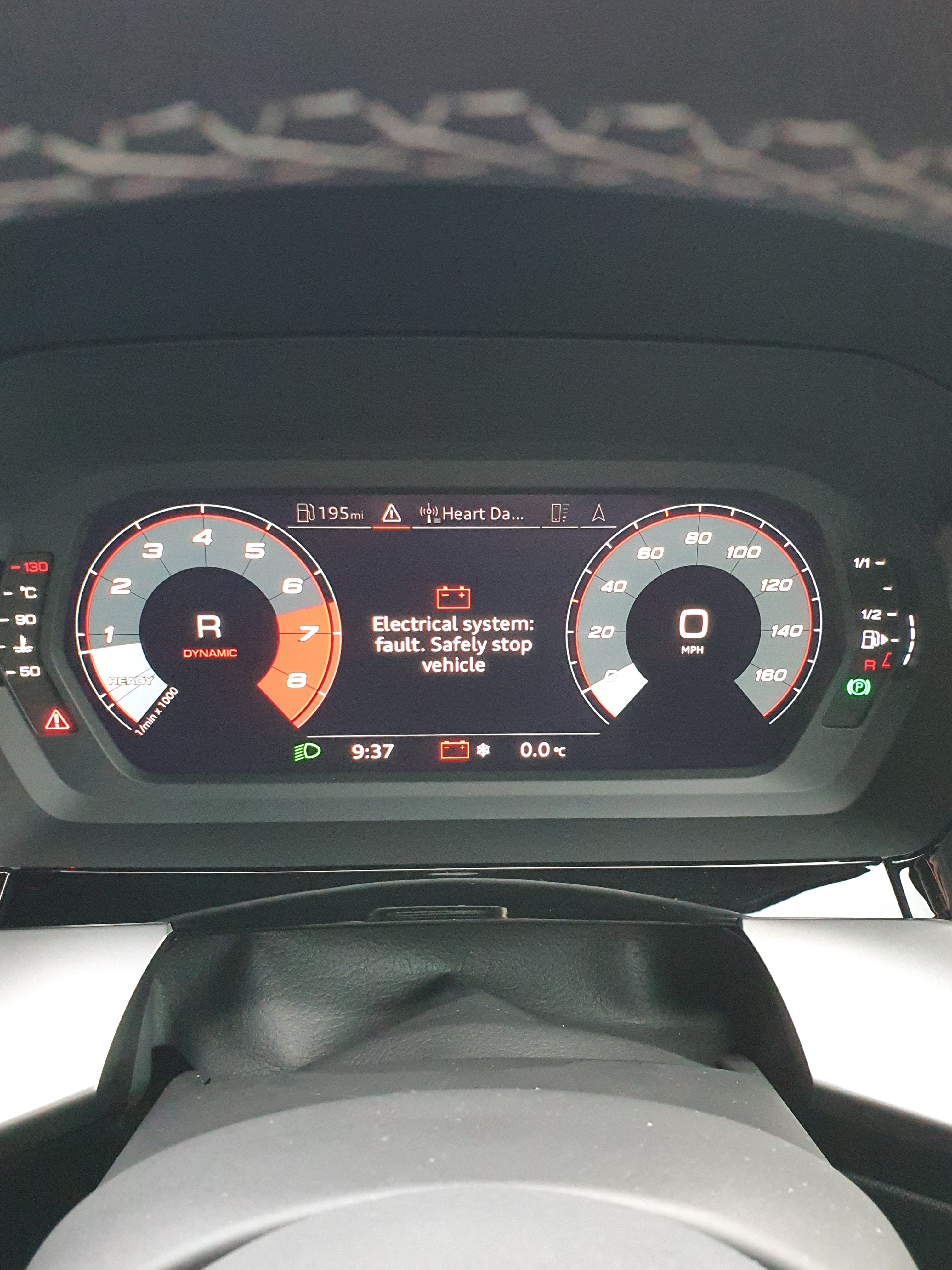 A3 8Y - Electrical system fault: Stop Vehicle | Audi-Sport.net