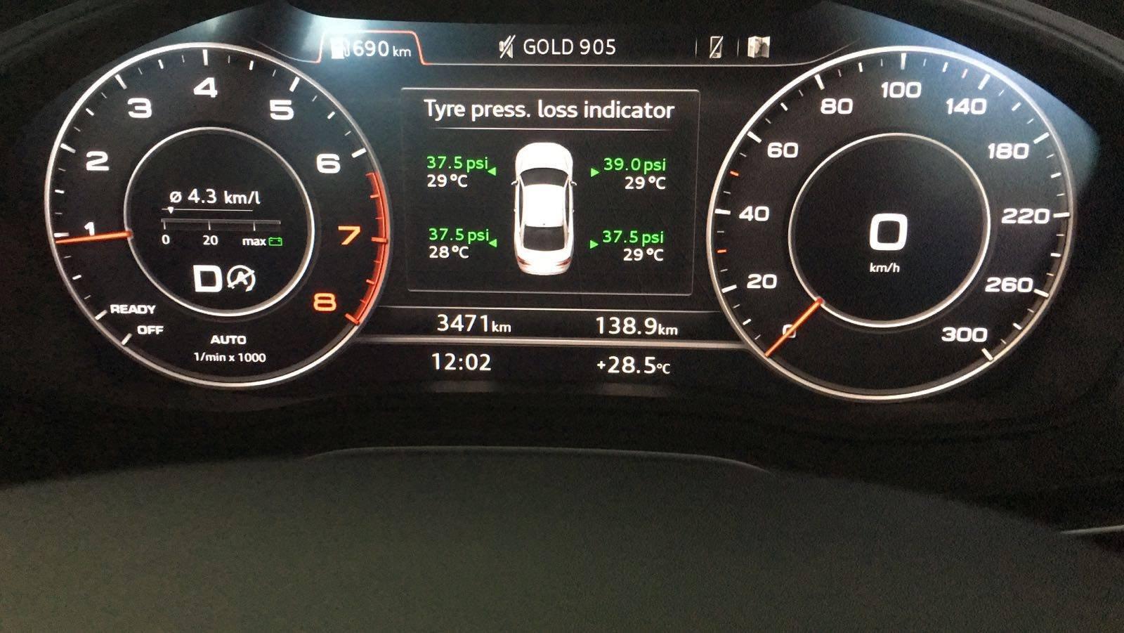 Proper TPMS for B9 | Audi-Sport net