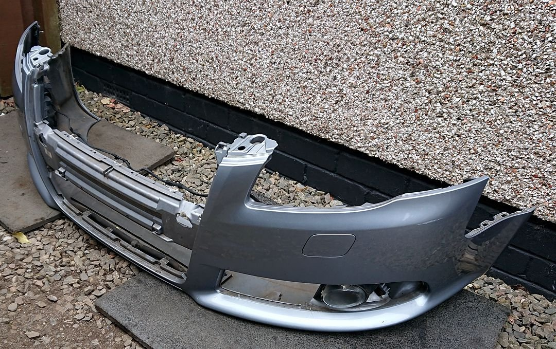 27 Bumper ready for New Grille.JPG