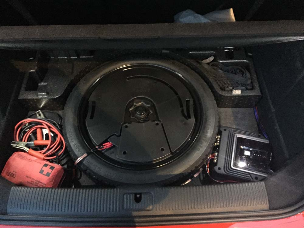 added the bang and olufsen sub to the standard sound system audi  at reclaimingppi.co