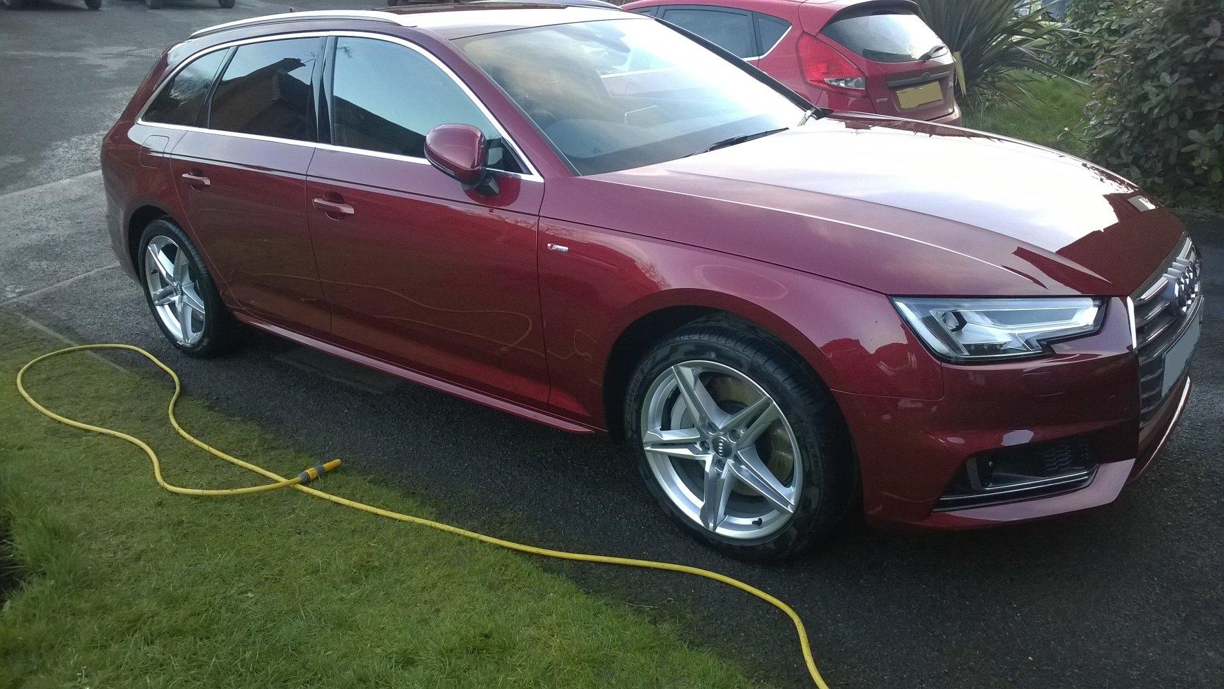 My New B9 A4 Avant 3.0 TDI quattro   Audi-Sport.net