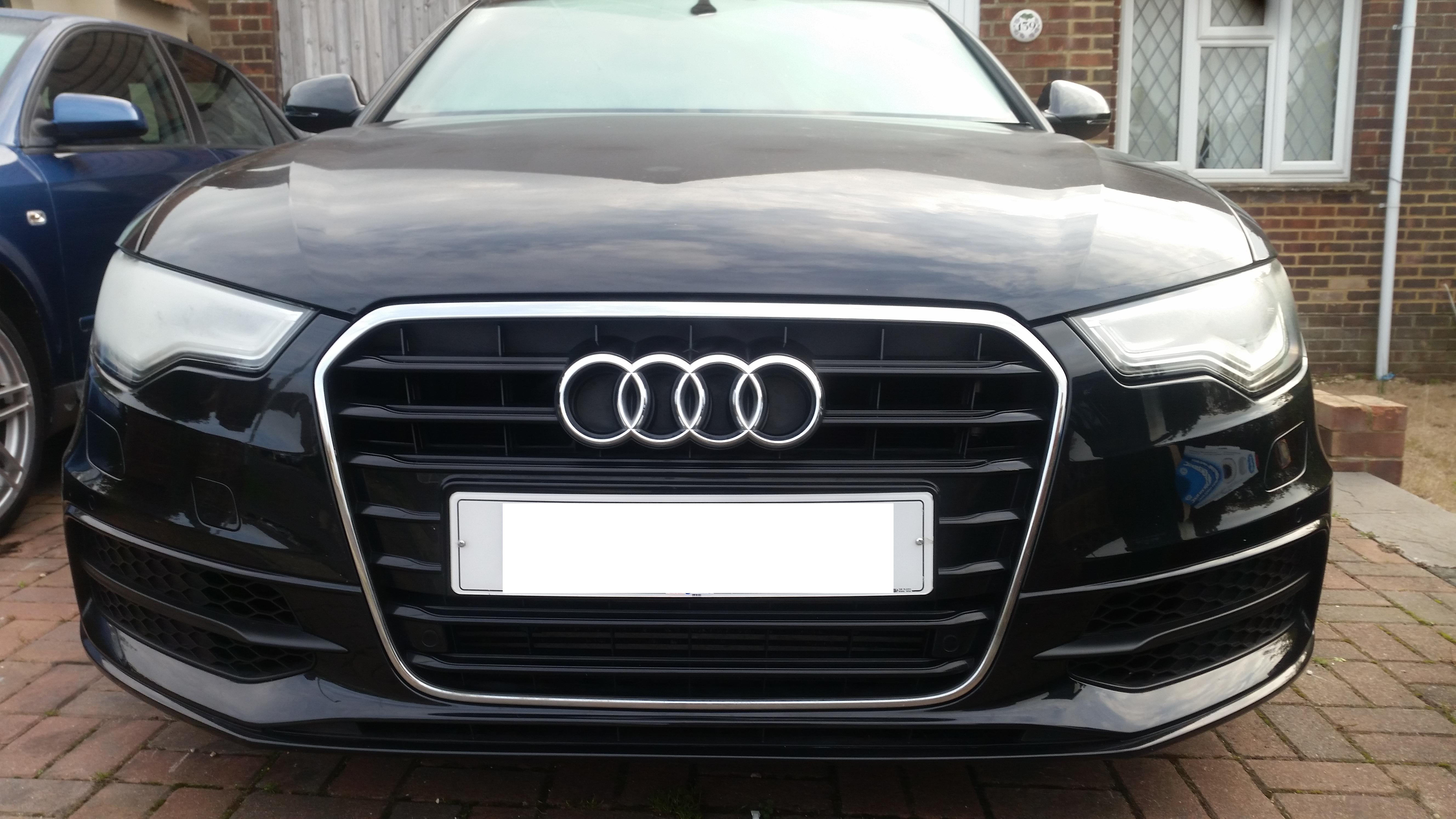 Rs6 grill swap | Audi-Sport net
