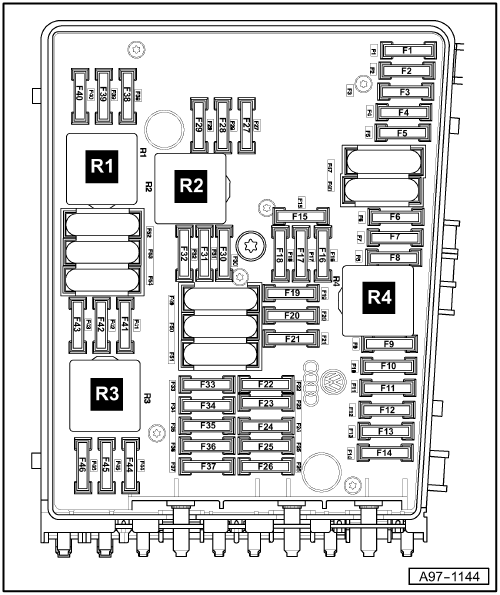 audi a 3 fuse box schematics wiring diagrams u2022 rh parntesis co 2006 Audi A6 Fuse Diagram VW Passat Fuse Box Diagram