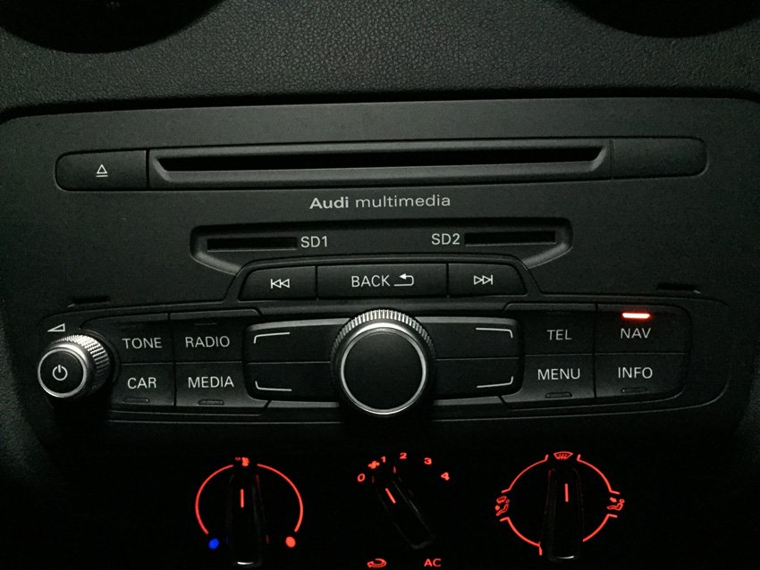 A1 sat nav activation | Audi-Sport net