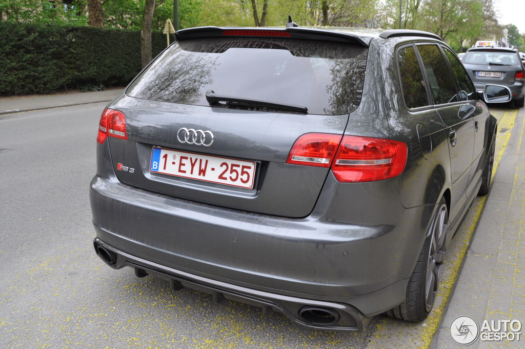 audi rs3 mtm rear bumper diffuser a3 8p audi. Black Bedroom Furniture Sets. Home Design Ideas