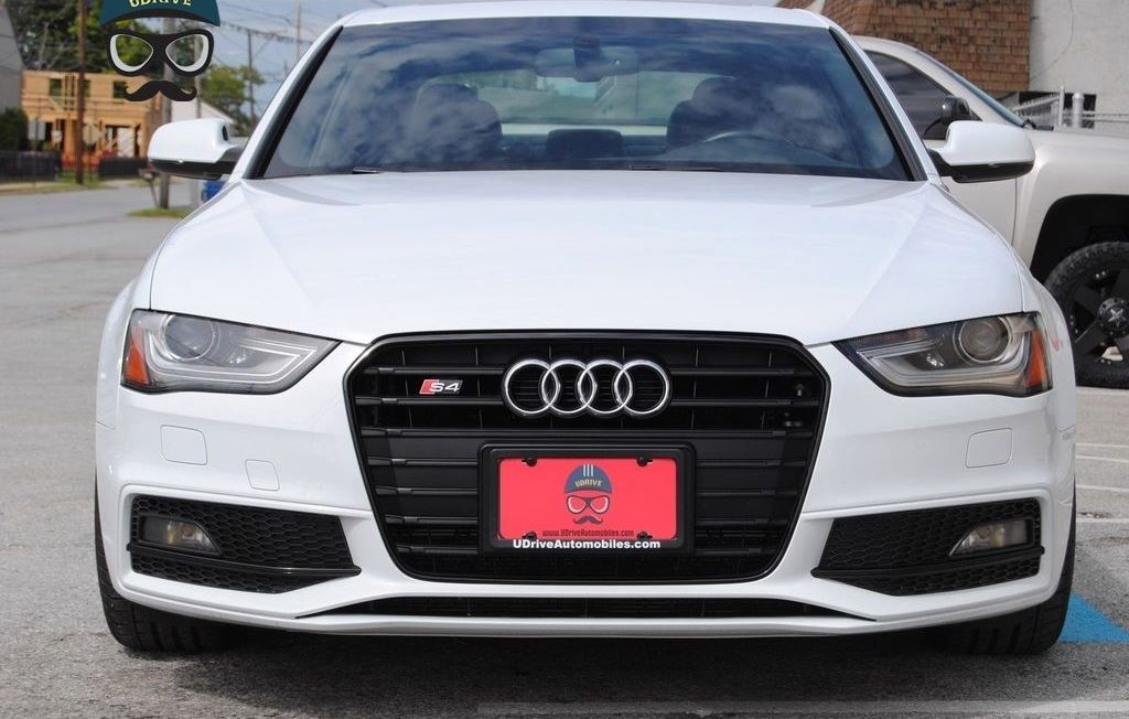 B8 5 S4 Front License Plate Holder Frame Mount Audi