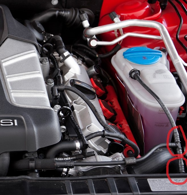 S4 Mysterious Slow Coolant Loss Found Audi Sportnet