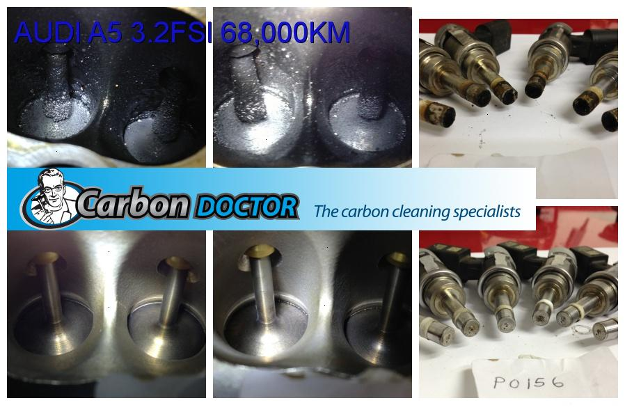 Audi A Carbon Build Up Cleaning Cost