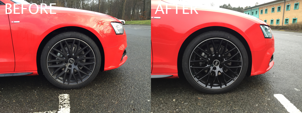 Audi A5 2.0 T >> A5 BE+ - Eibach Pro-Kit & H&R TRAK+ Spacers | Audi-Sport.net