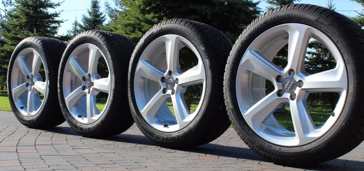 BIG BLUEY Winter rims and tyres.JPG