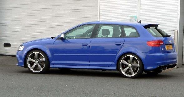 BLUEY at Stafford Audi.JPG