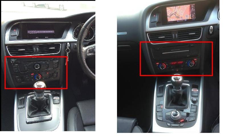 Centre Console Buttons Audi Sport Net