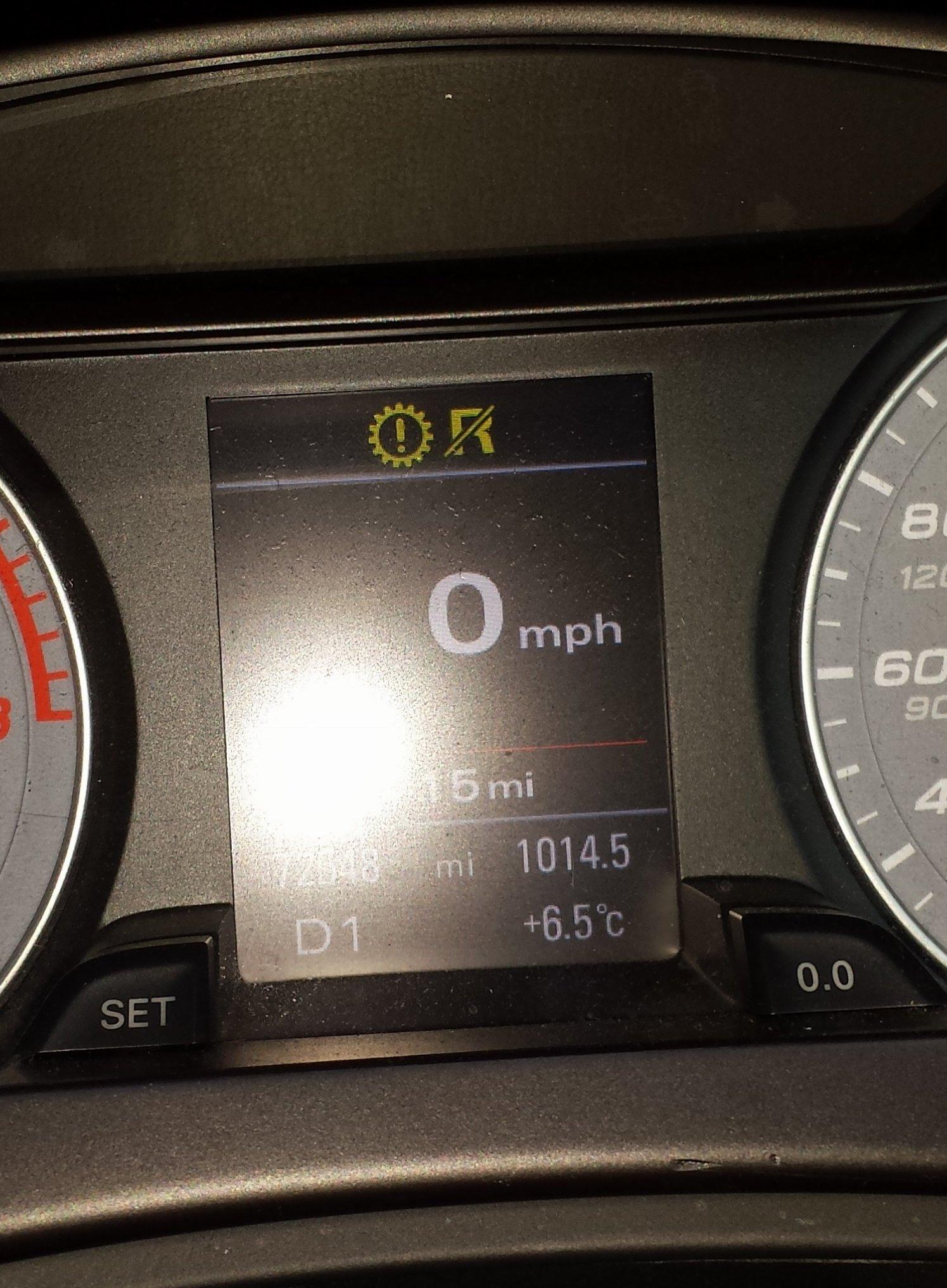 gearbox problem | Audi-Sport net