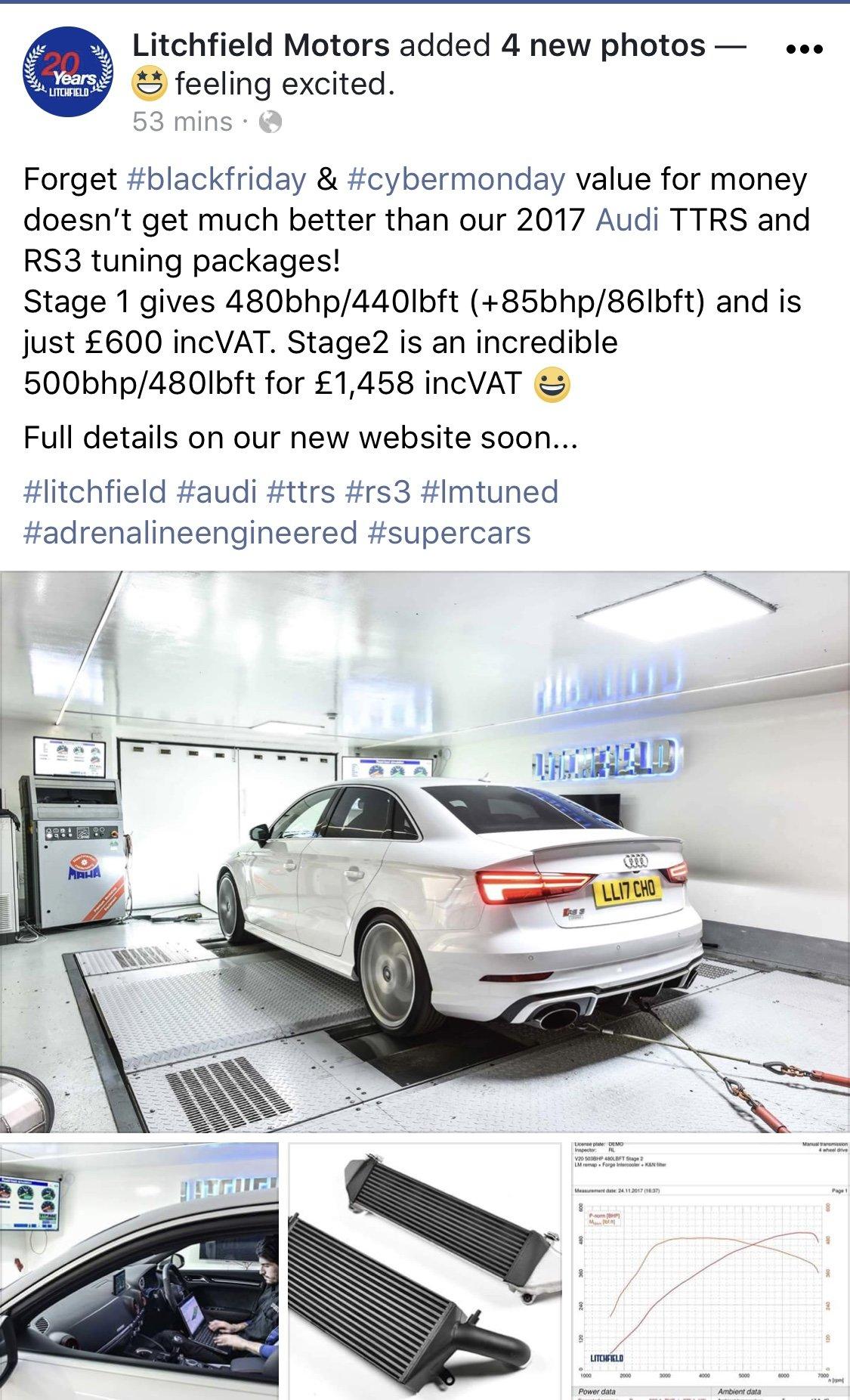 480bhp upgrade only £600   Audi-Sport net