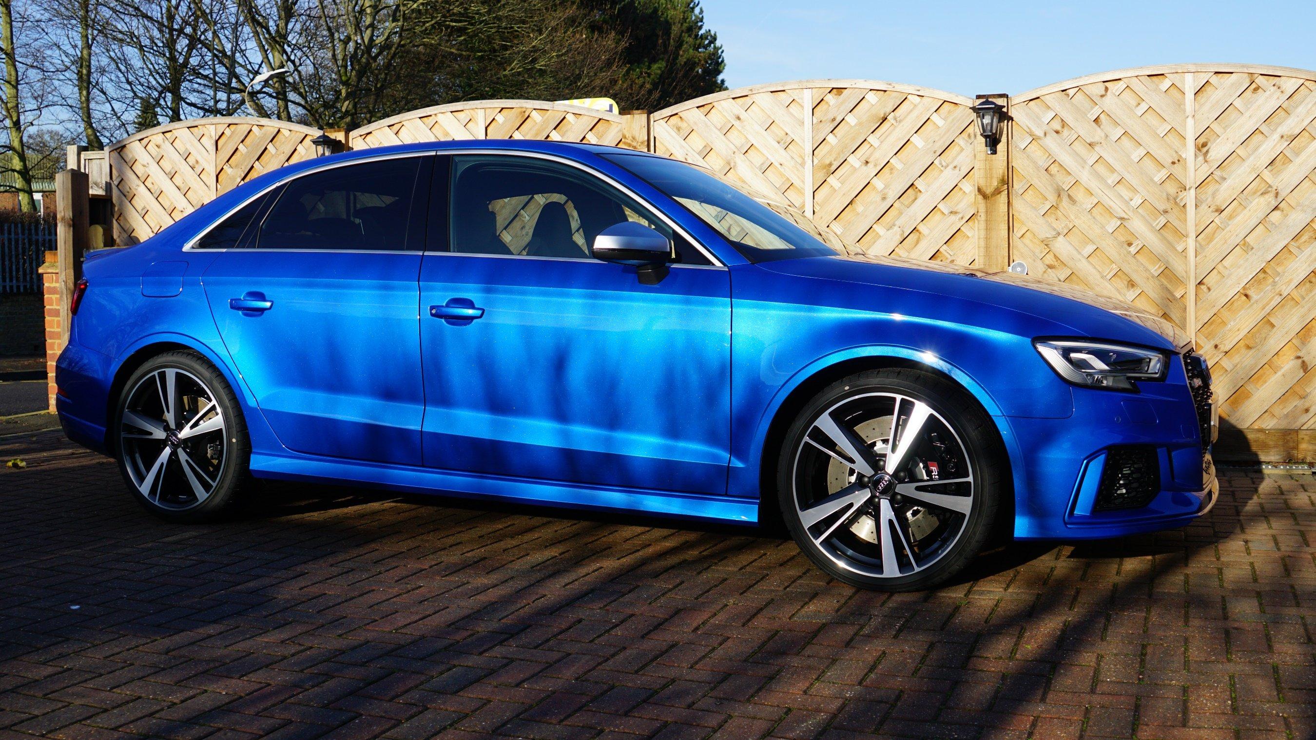 Rs3 Saloon Ara Blue Audi Sport Net