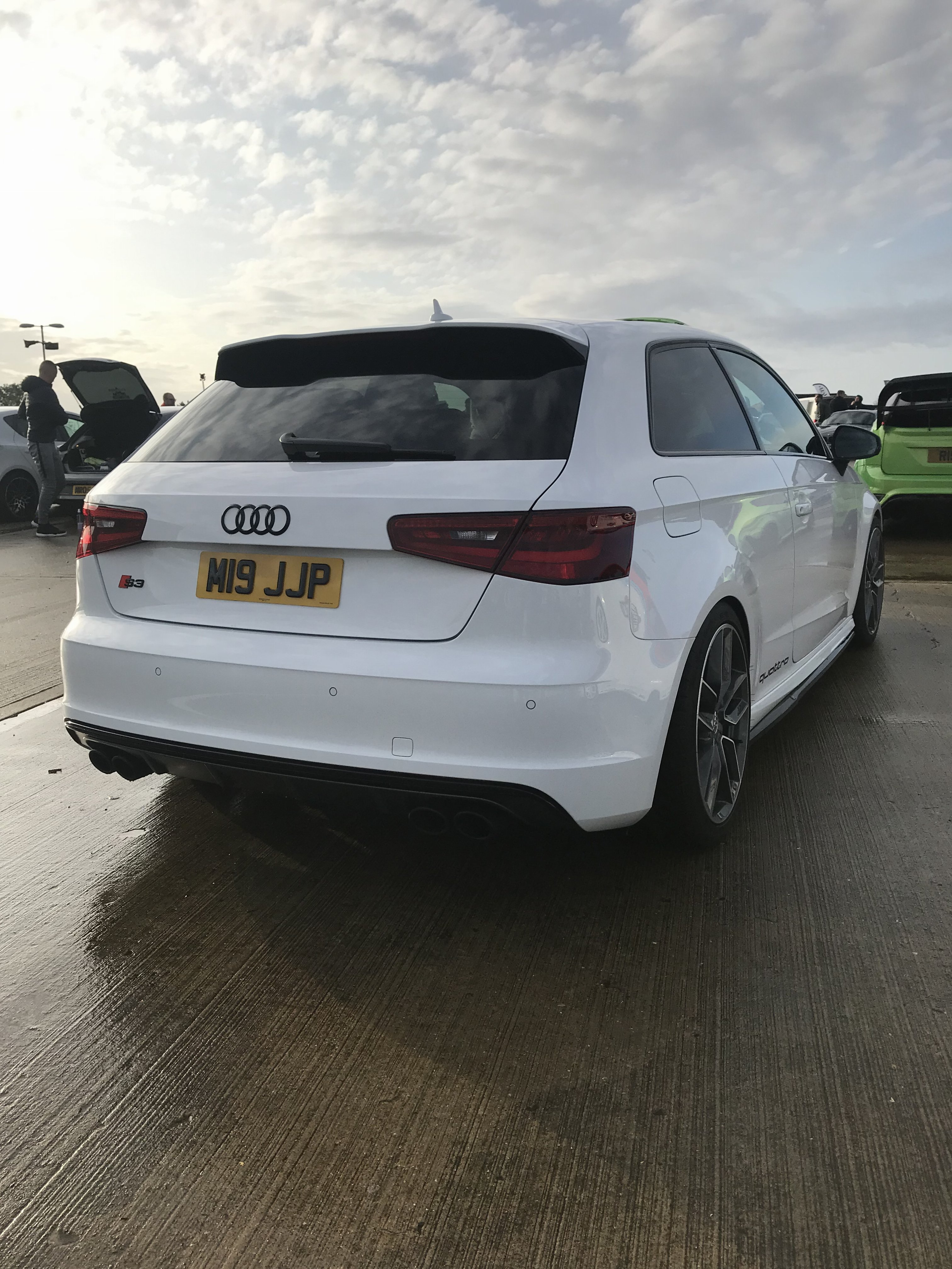 For Sale - 2015/65 AUDI S3 8V 400bhp+ Ibis White 3dr Hatch ...