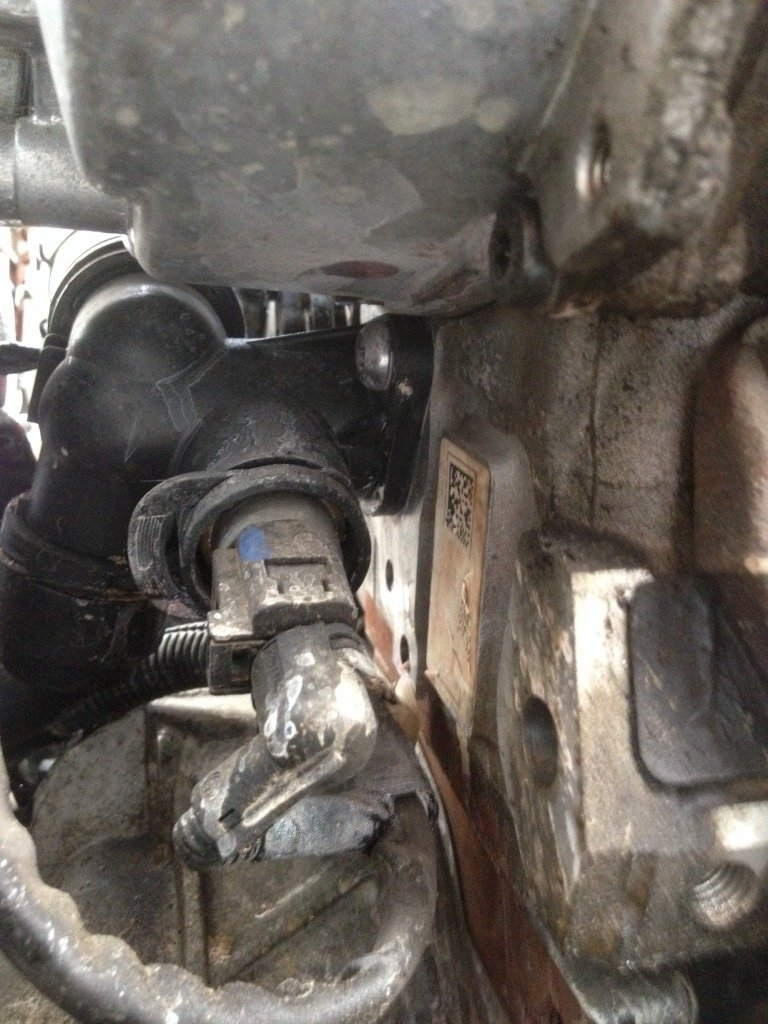 Project 2 0tfsi Engine Rear Coolant Flange Replacement