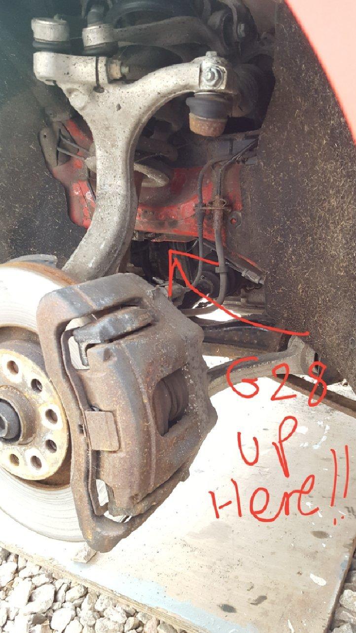 Engine Speed Sender Crank Sensor On Automatic Jax Gearbox Audi Sport Net