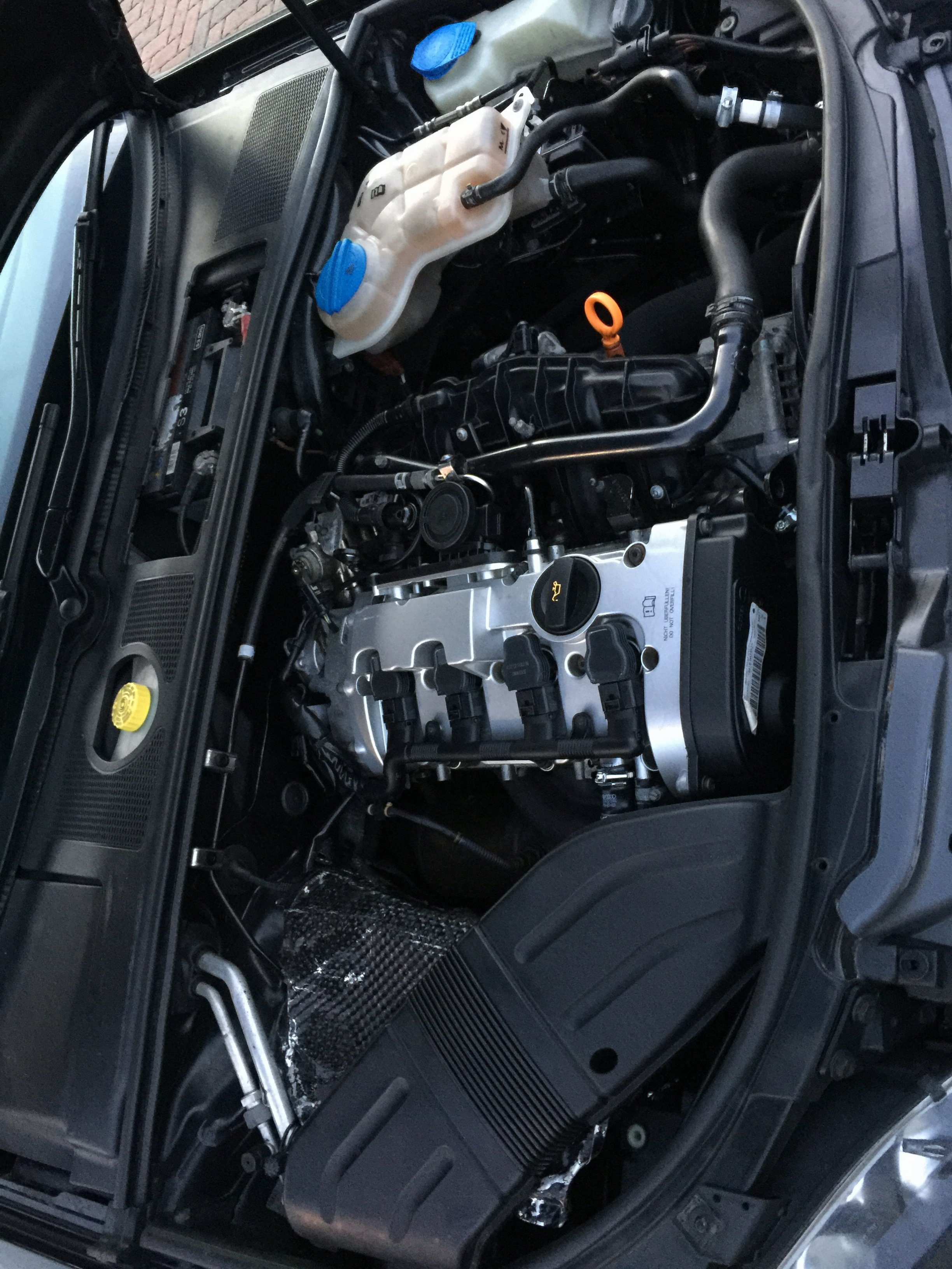 Audi A4 B7 20tfsi Coil Pack Harness Red Conduit Audi Sportnet