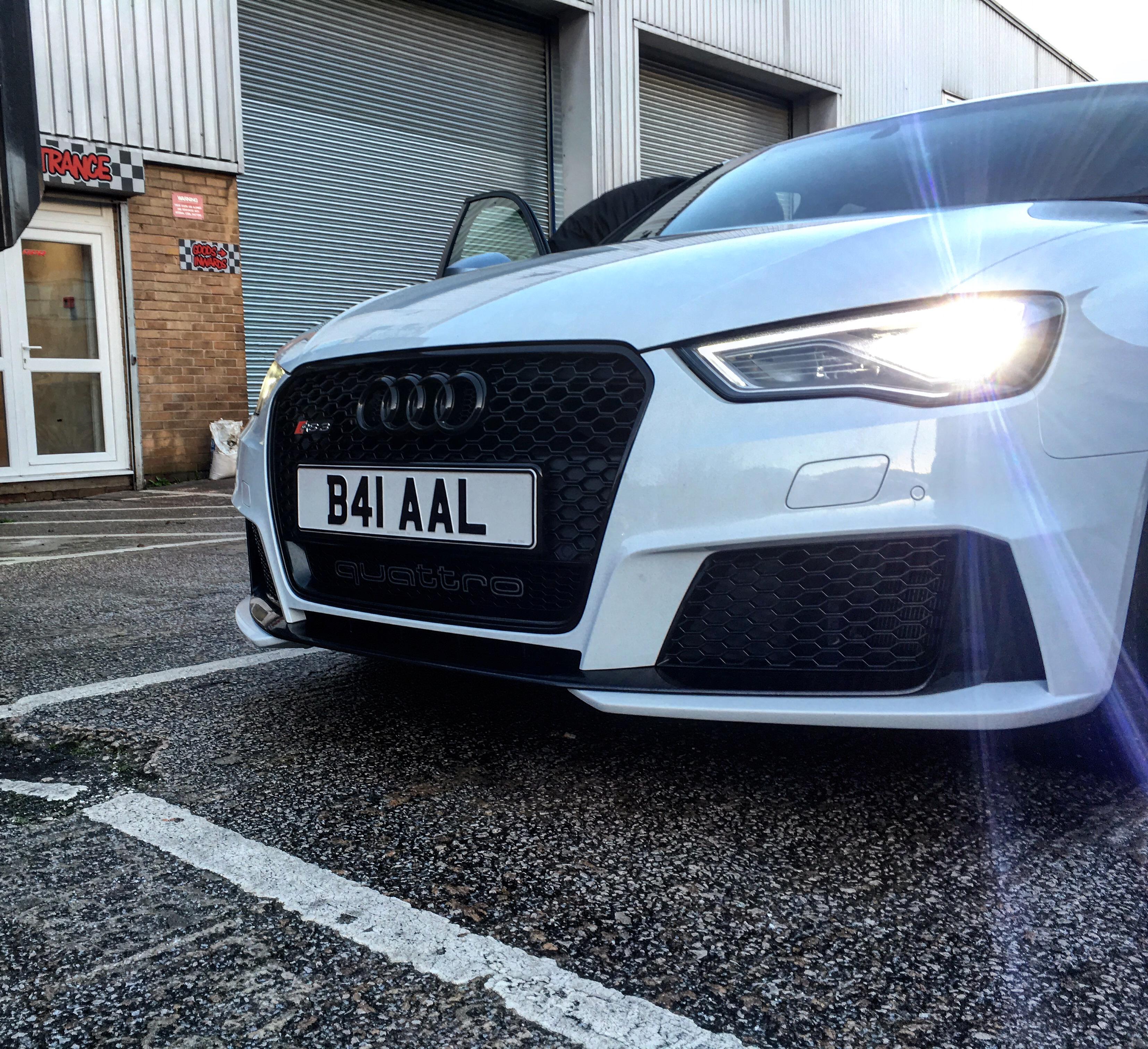 audi ring badge's where to buy? in black | Audi-Sport net