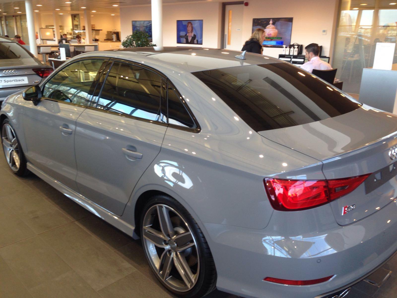 S3 Saloon Facelift Colour Choice Dilemma Audi Sport Net