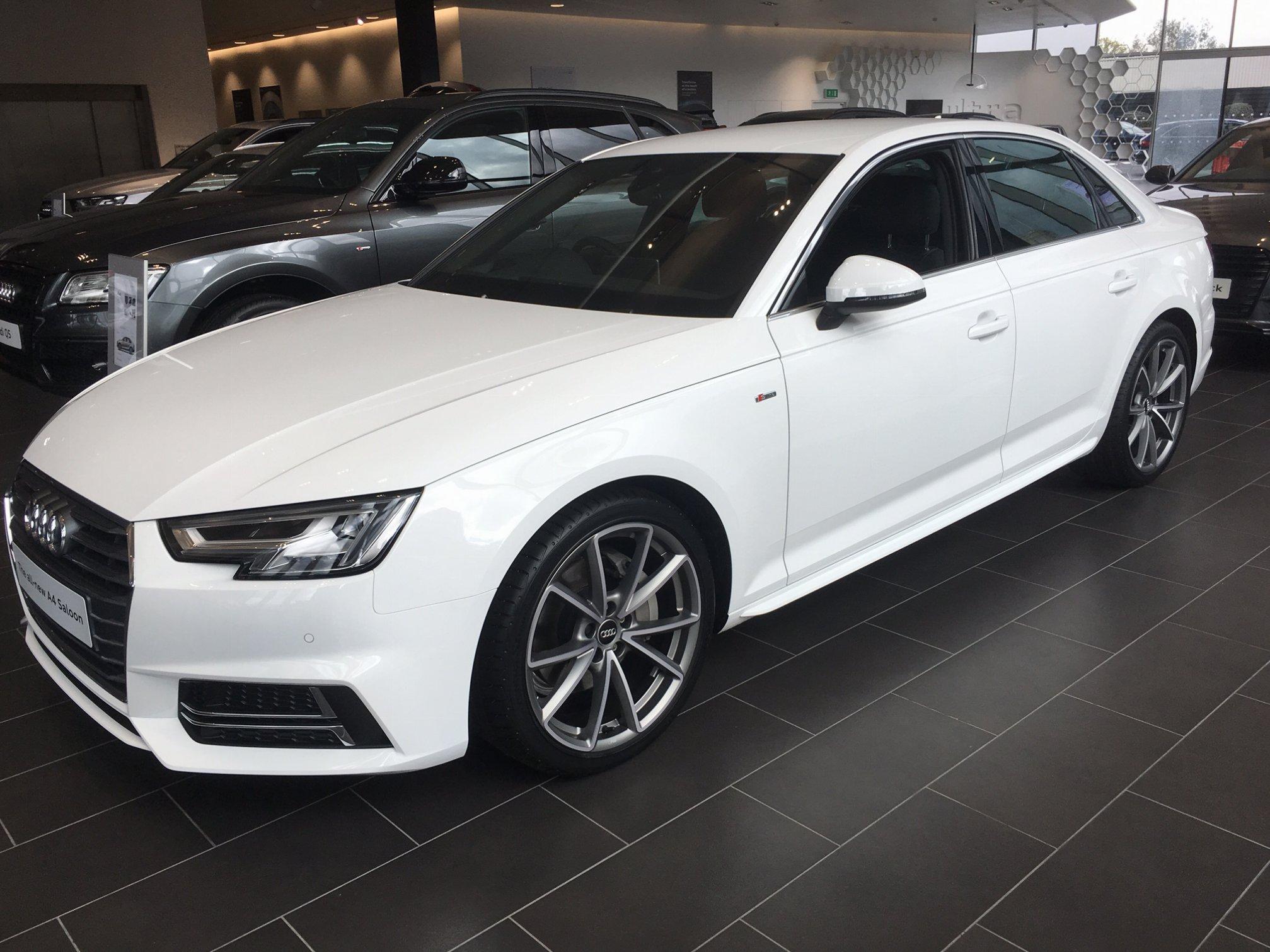 White Or White Audi Sport Net