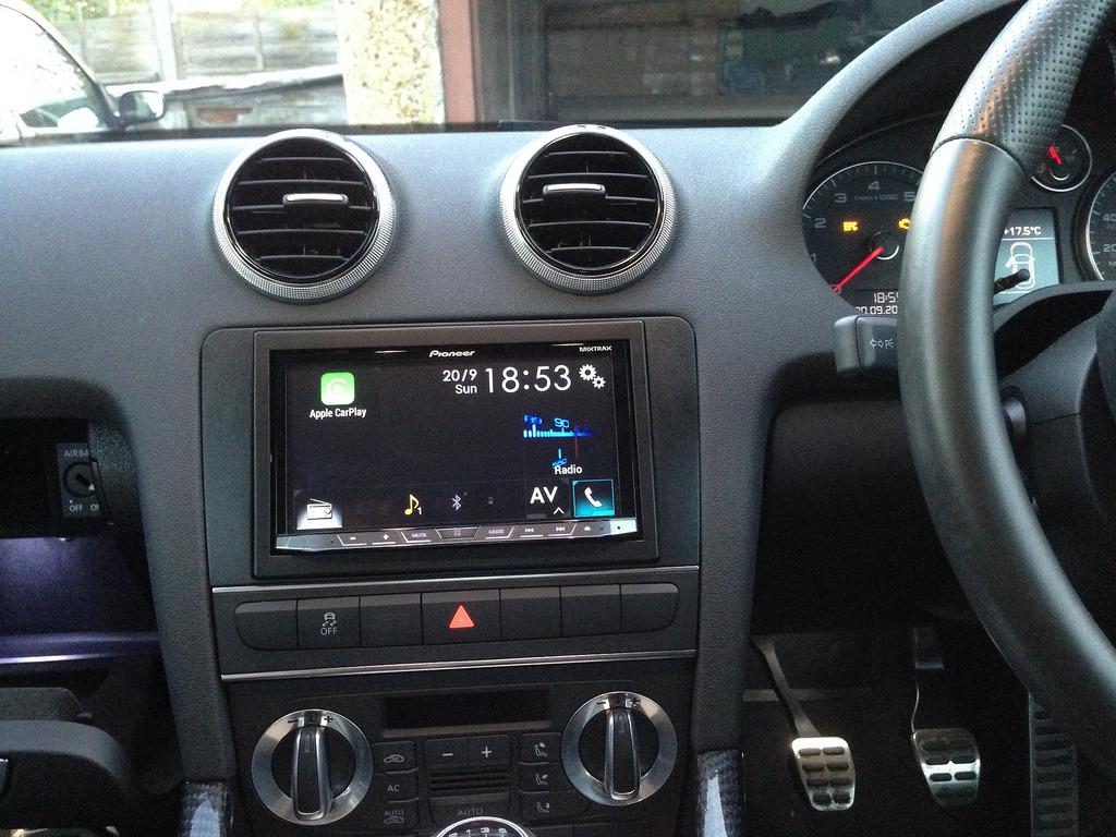 Apple play Headhunt in S3 | Audi-Sport net