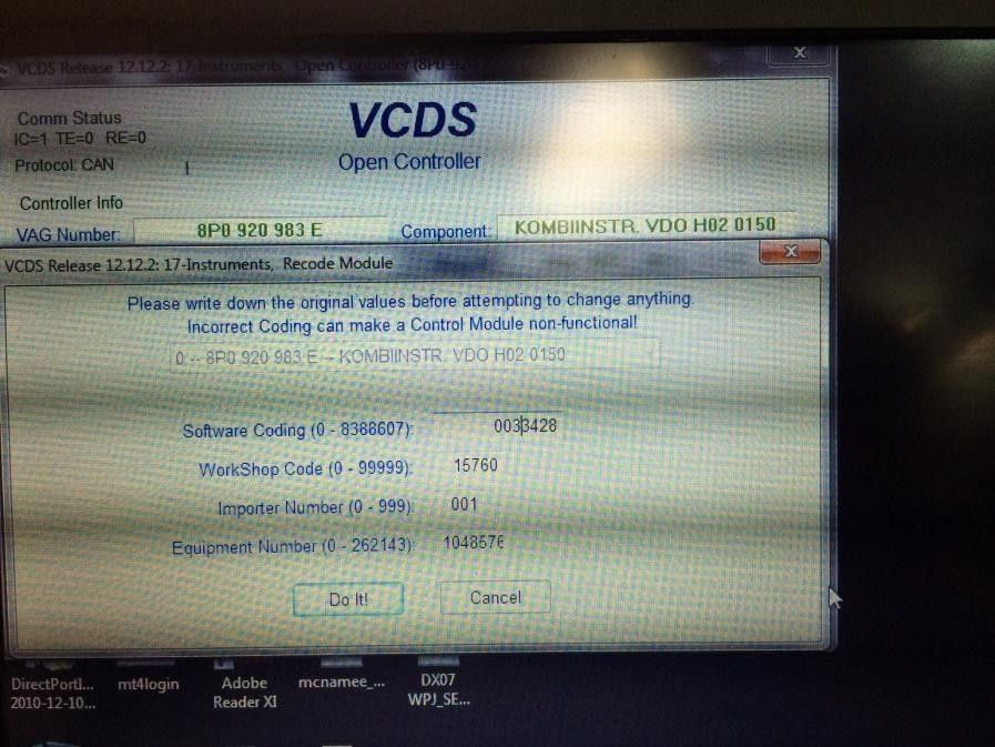 TPMS - A3 2012 - Coding Issues? VCDS users please check! | Page 2