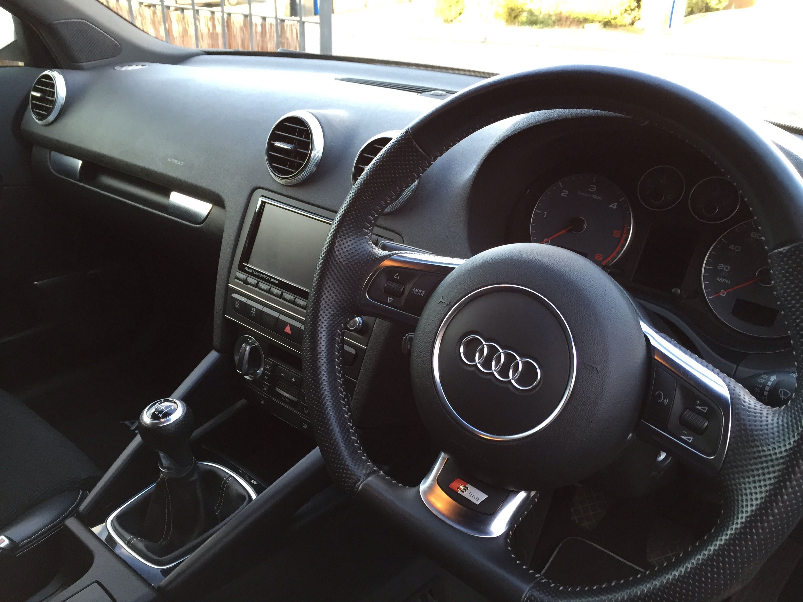 My 2010 Audi A3 Sportback S-line Black Edition with some minor mods ...