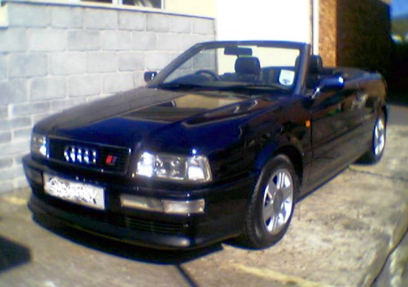 audi 80 1 8 cabriolet final edition audi. Black Bedroom Furniture Sets. Home Design Ideas