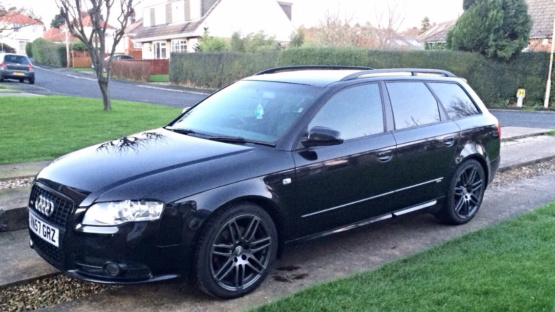 my latest audi an a4 b7 avant black edition quattro. Black Bedroom Furniture Sets. Home Design Ideas