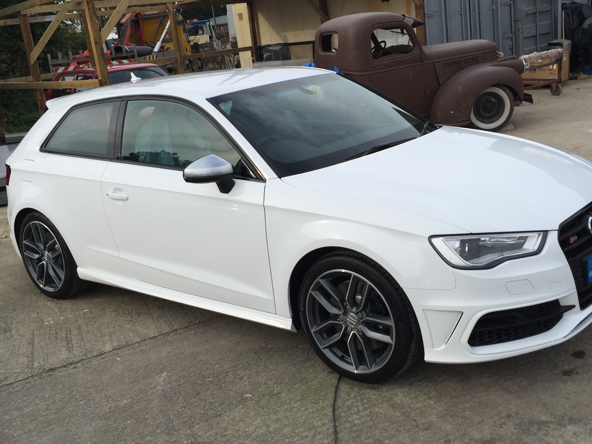 Show Us Ibis White Audi Sport Net
