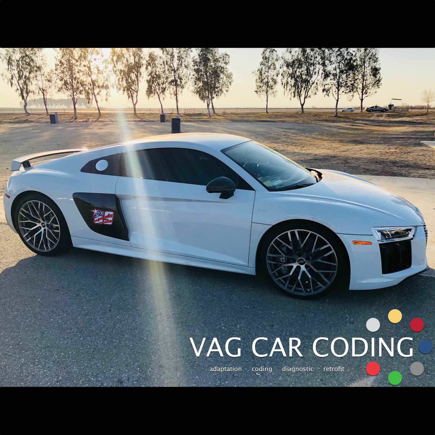 Audi of America said it was not possible - 2017 R8 V10 Plus