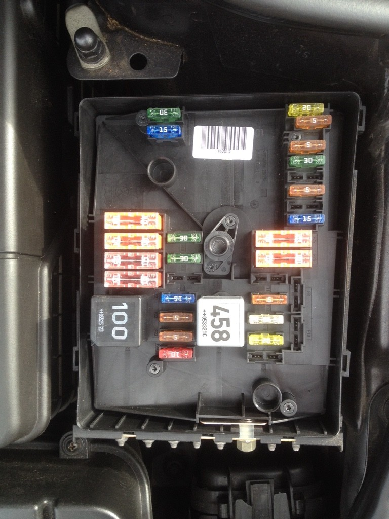Fuse Box Layout Audi A3 : Esp fuse missing audi sport
