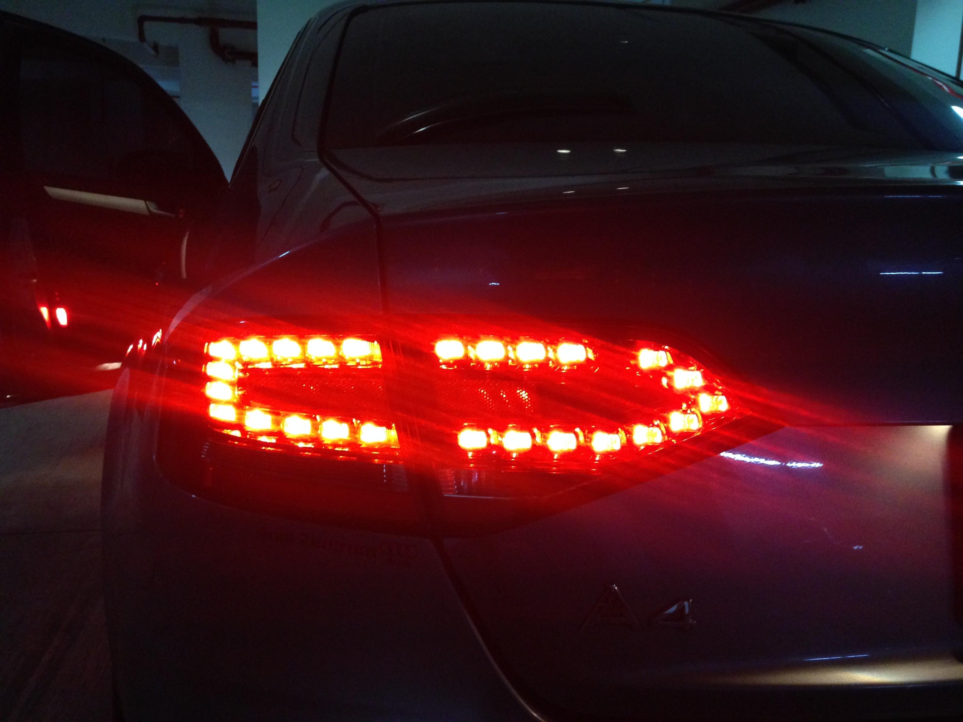 Dead Led on tail lights | Audi-Sport net