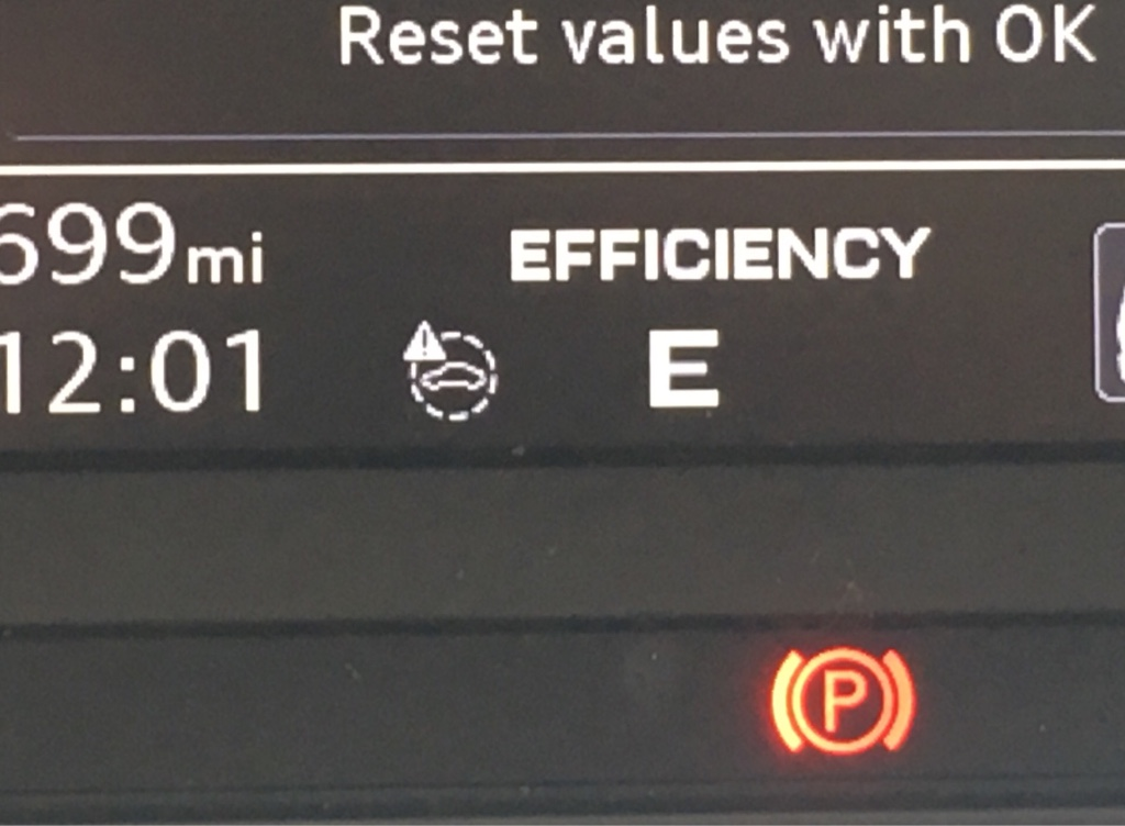Pre sense warning light  | Audi-Sport net