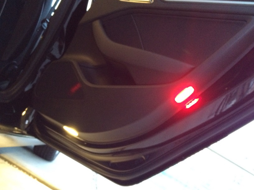 Retrofit puddle    lights      door warning    lights    to 8V  help