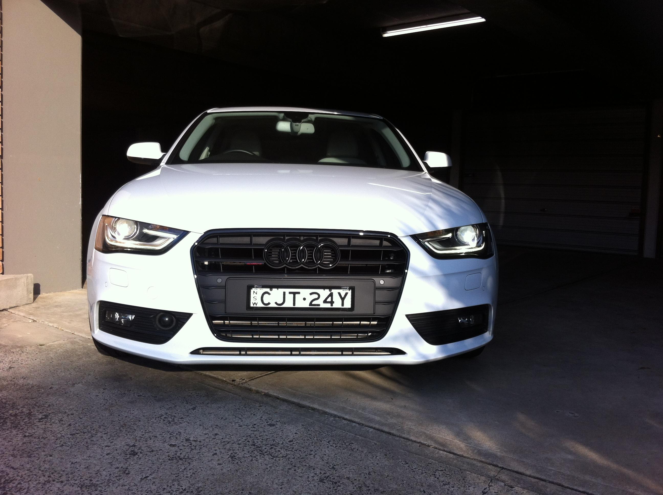 B8 5 S4 Front License Plate Holder / Frame / Mount | Audi