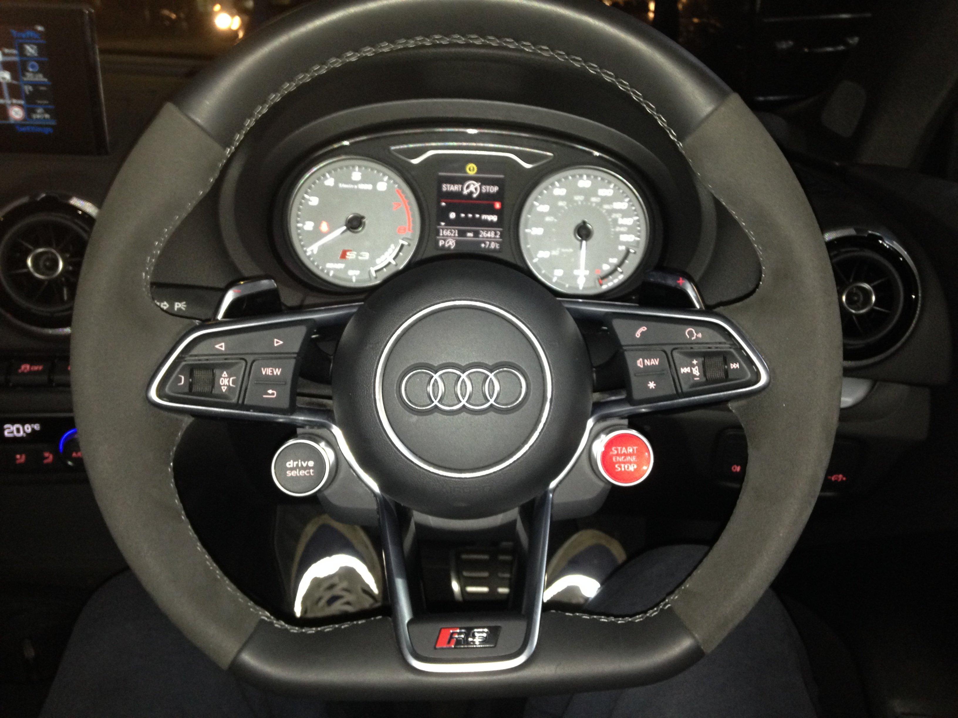 Thanks For My New R8 Tt Rs Steering Wheel Audi Sport Net