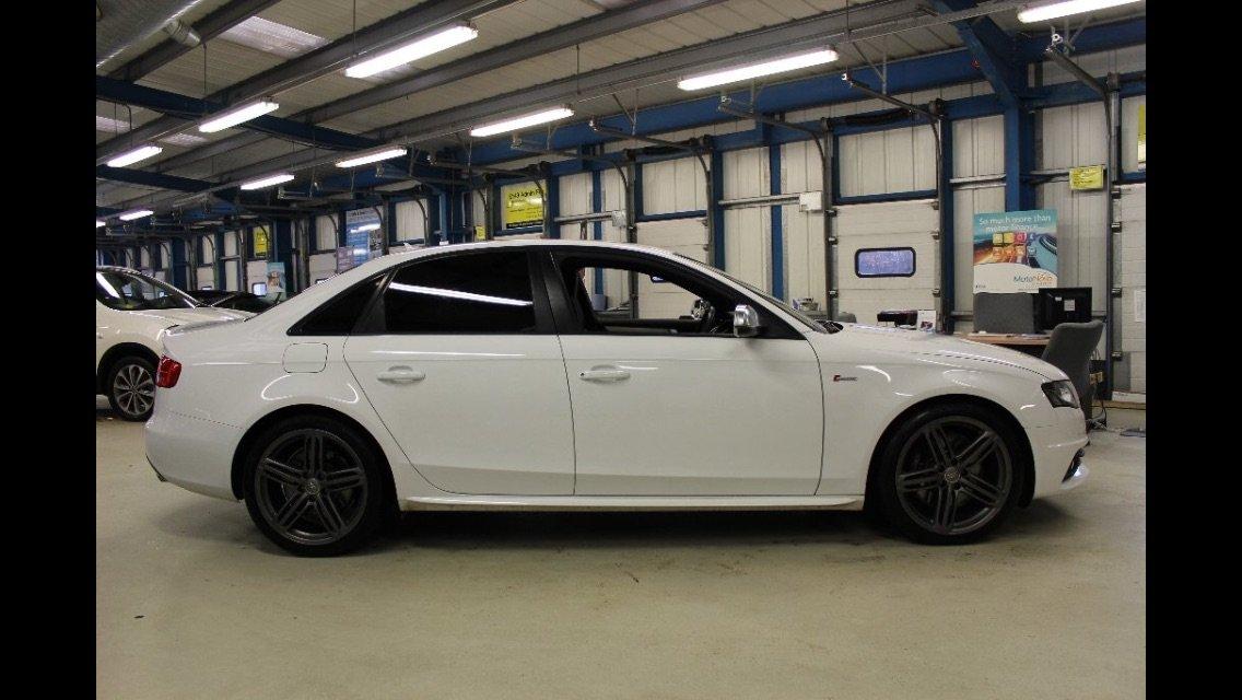 Ibis White B8 Audi S4 Black edition – MRC Stage 2 | Audi