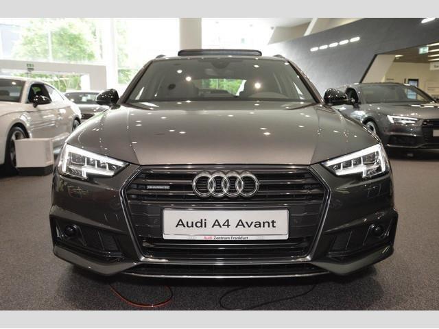 A4 B9 Black Edition Pictures Audi Sportnet