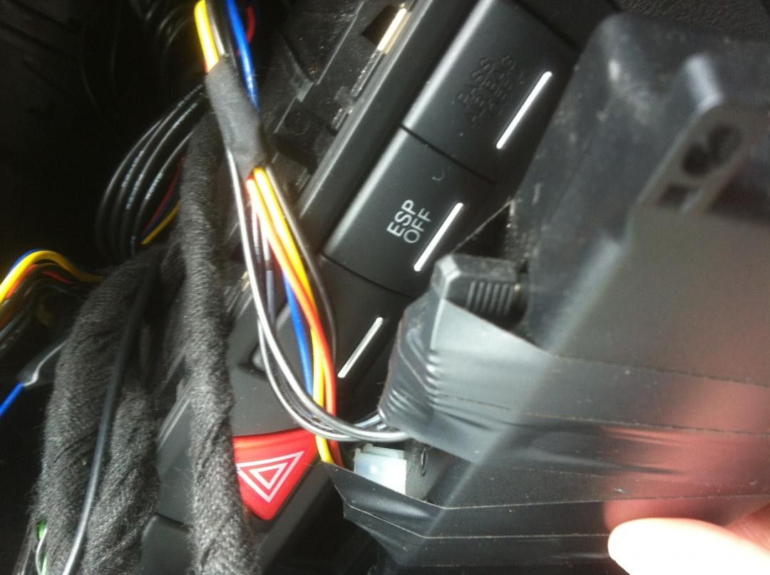 Factory Fitted Aux Input Not Working Cable Wiring Img 1302
