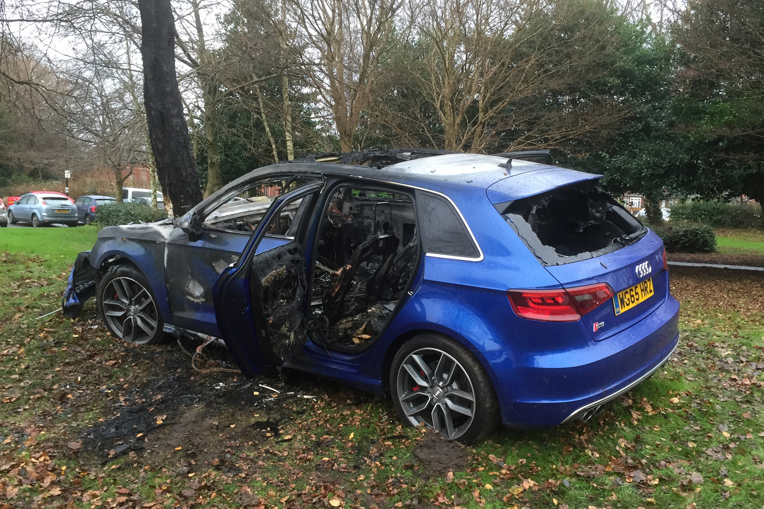 Burnt Out 65 Plate S3 Not For Feint Hearted Audi Sport Net